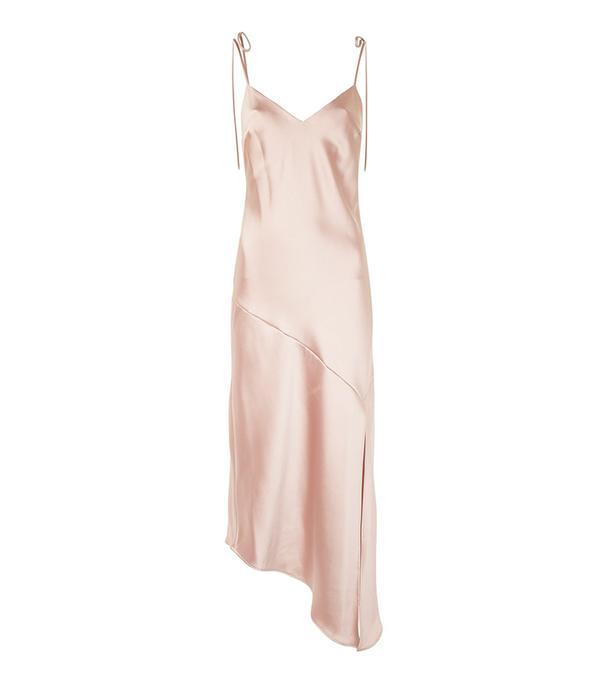 beach wedding dresses - Topshop Asymmetric Hem Slip Dress