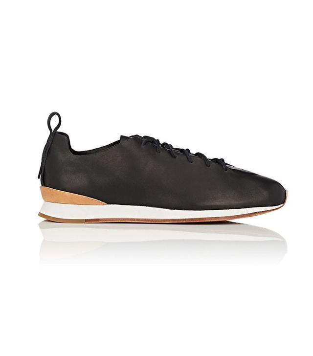 Women's Leather Runner Sneakers