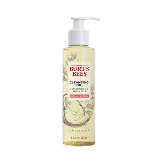 Burt's Bees Facial Cleansing Oil - double cleansing