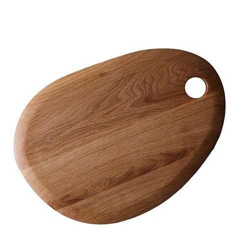 Simple Round Oak Cutting Board