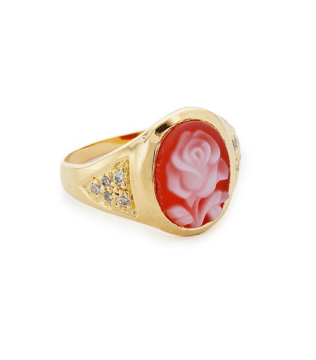 JA Small Rose Ring