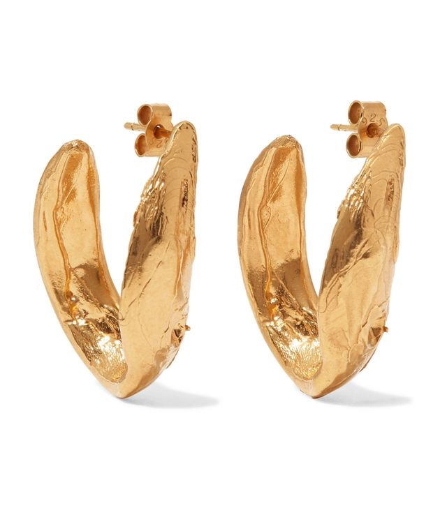Surreal Gold-plated Earrings