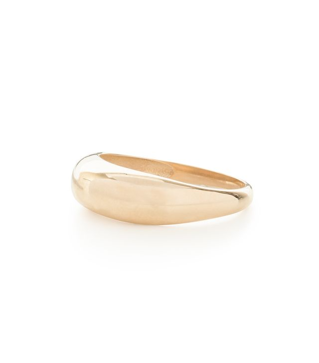 Mejuri Thin Dome Ring