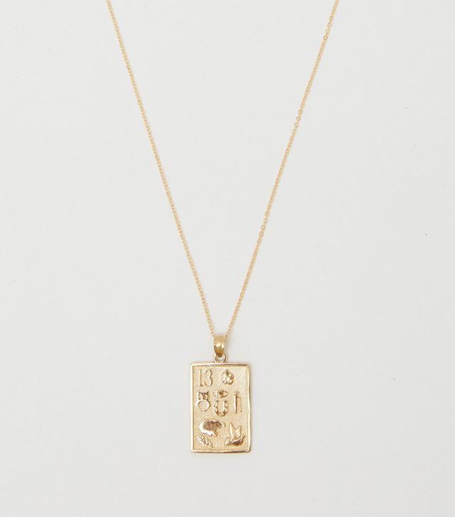 Bagatiba 14k Lucky Charm Necklace