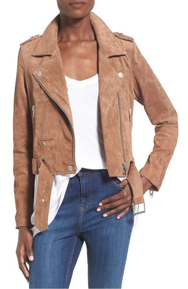 Women's Blanknyc Morning Suede Moto Jacket