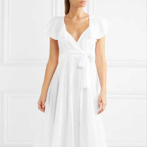 Laurie Silk-Trimmed Cotton-Voile Nightdress