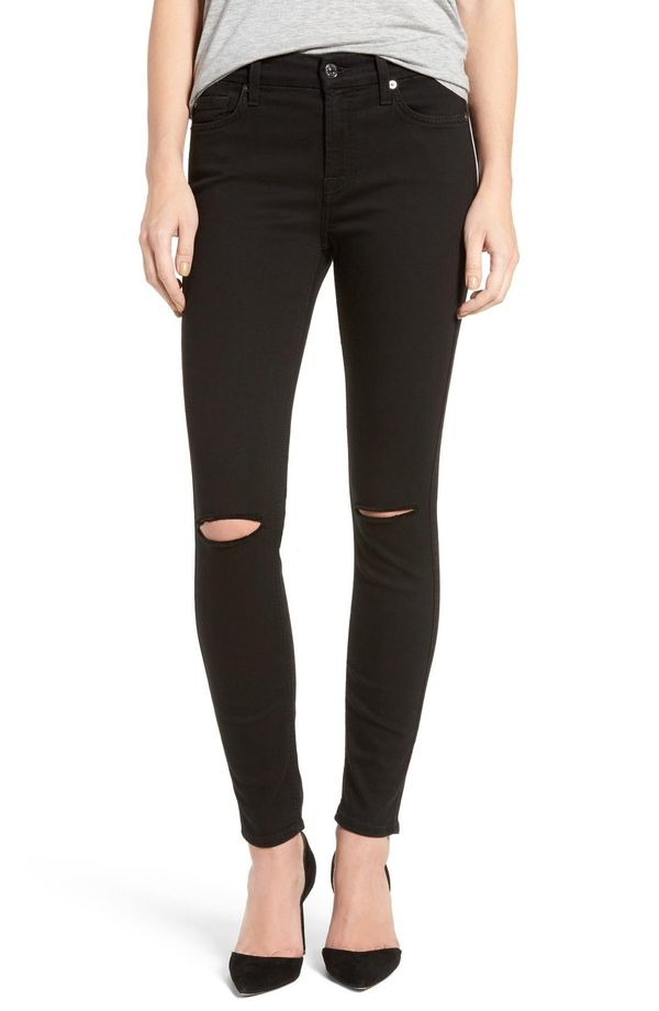 Women's 7 For All Mankind 'B(Air)' Ankle Skinny Jeans