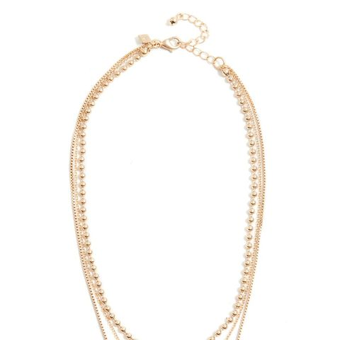 Medallion Layered Delicate Necklace