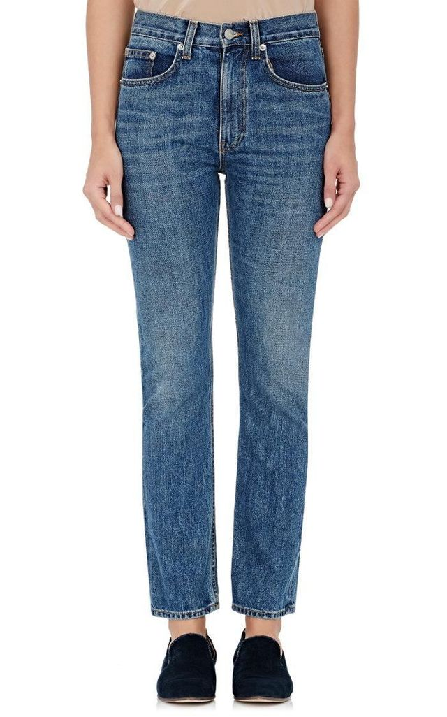 Women's Selvedge-Denim Straight-Leg Jeans