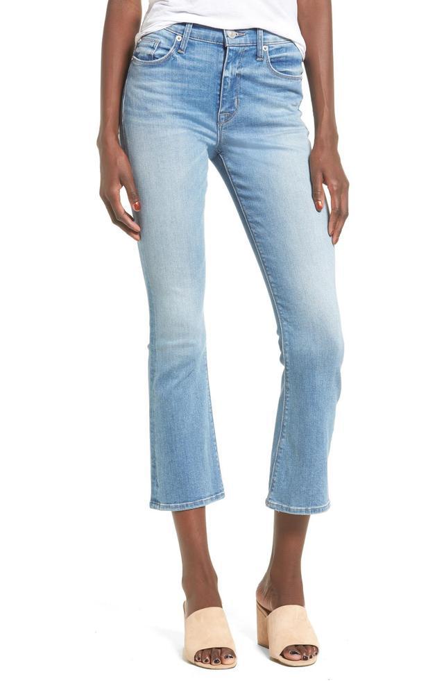 Brix High Rise Crop Jeans