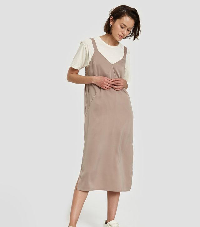 Nanette Dress in Taupe