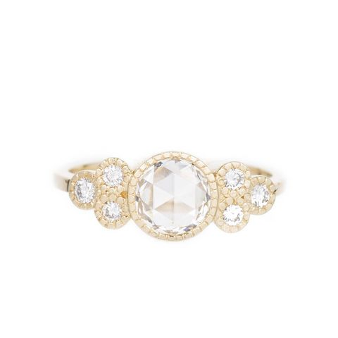 Diamond Cluster Elevate Ring