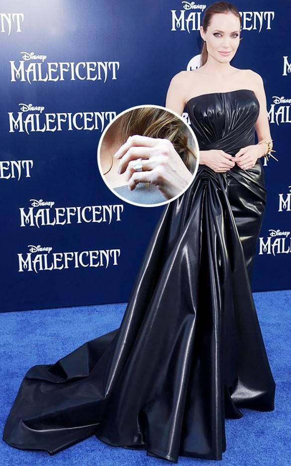 Most Expensive Celebrity Engagement Rings: Angelina Jolie