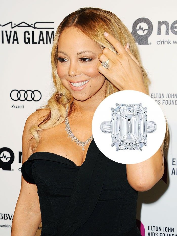 diamond ring engagement rings celebrity purewow fashion best