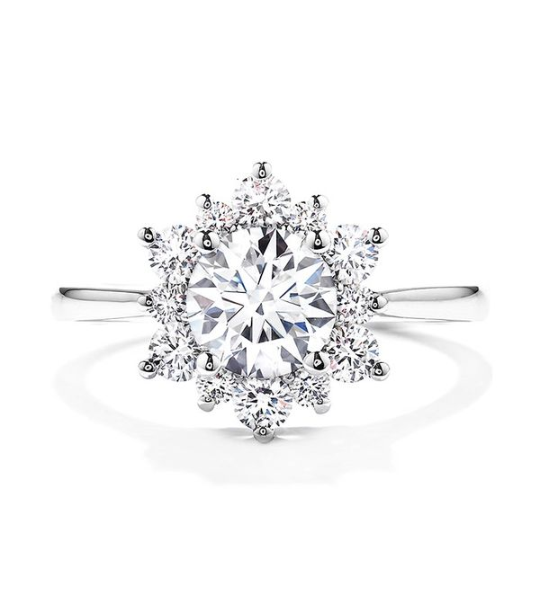 Hearts on Fire Delight Lady Di Ring