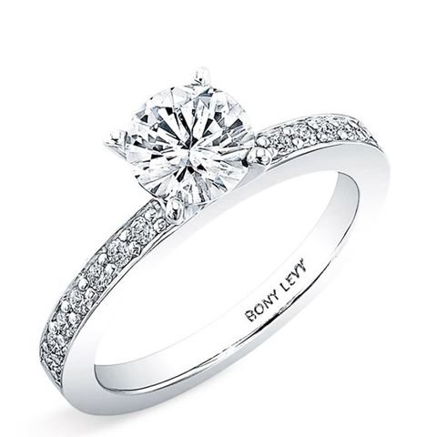 channel set diamond ring - Most Expensive Wedding Ring