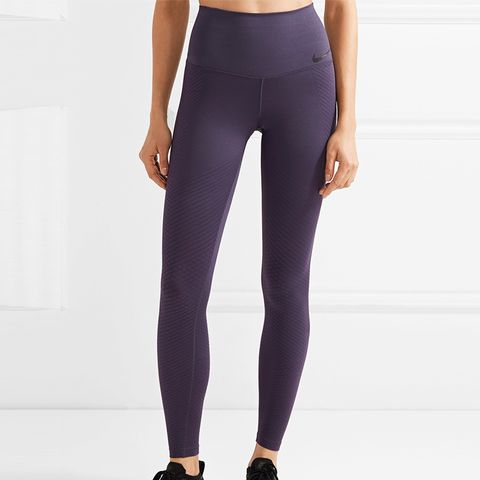 Zonal Strength Training Textured Dri-Fit Stretch Leggings
