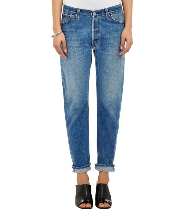 Women's Relaxed Straight Jeans
