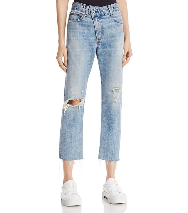 rag & bone/Jean Wicked Boyfriend Jeans in Kit Kat Room