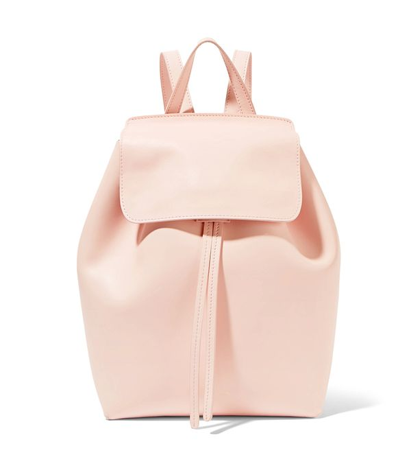 stylish backpacks - Mansur Gavriel Mini leather backpack