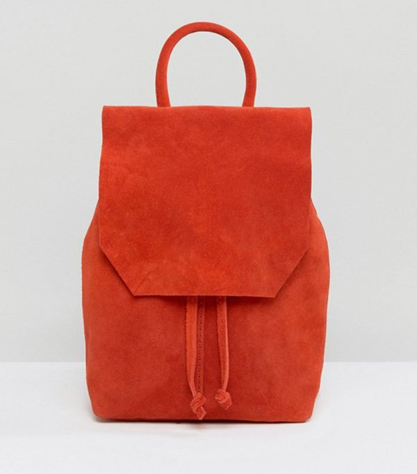 stylish backpacks - ASOS Mini  Suede Backpack
