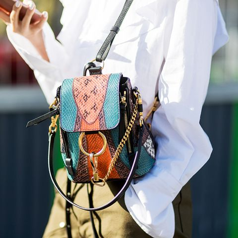 Don't Fight It: This Bag Trend Is Happening (Again)