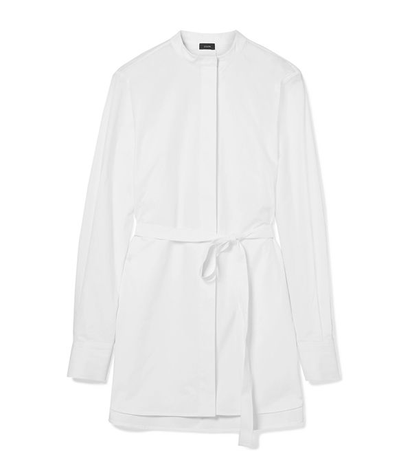 Carla Oversized Cotton-Poplin Shirt