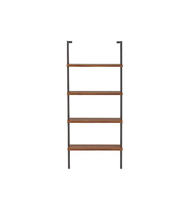 CB2 Helix Acacia Bookcase