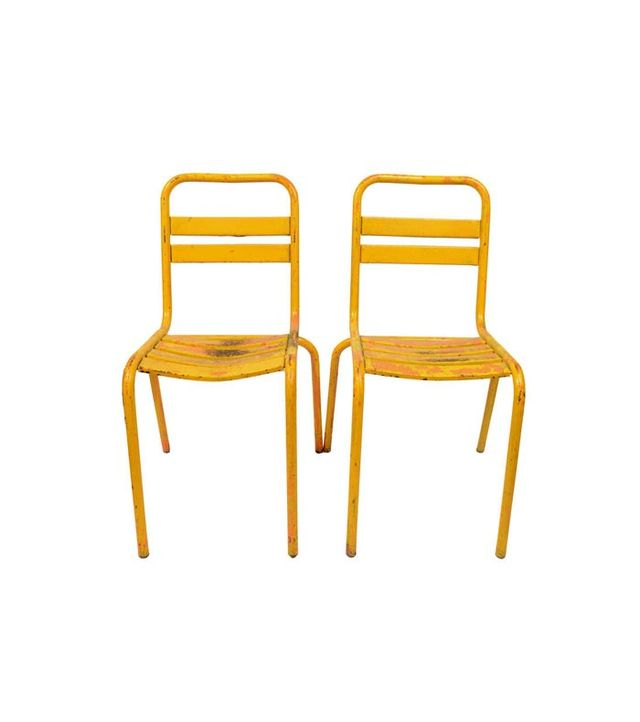 1st Dibs 1960s Bistrot Chairs Set of 4