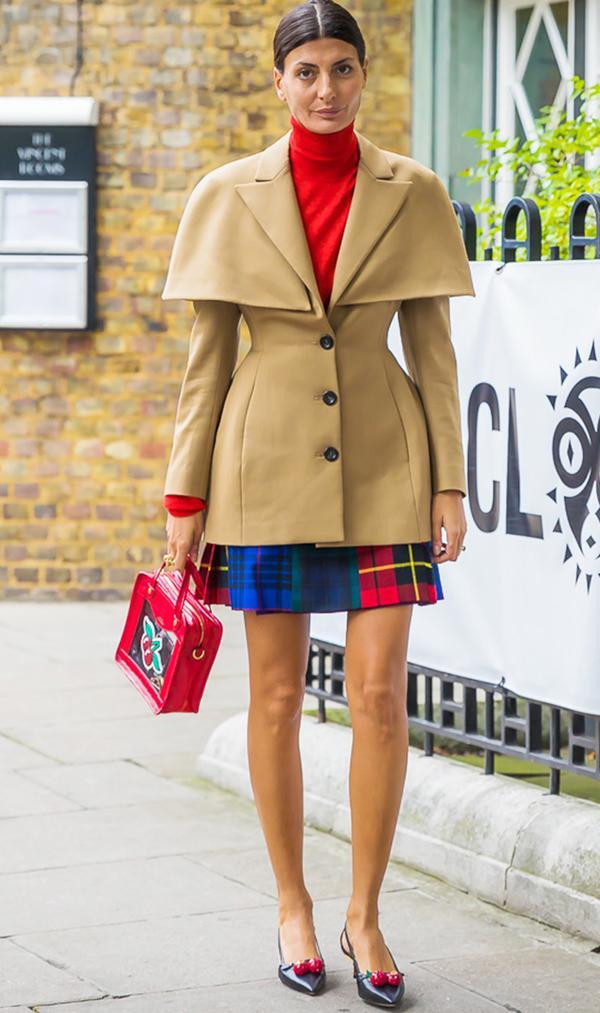 Giovanna Battaglia camel jacket