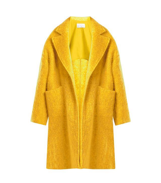 Raey Dropped-Shoulder Wool-Blend Blanket Coa