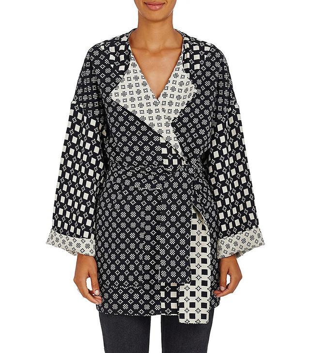 Ace & Jig Reversible Cotton Coat