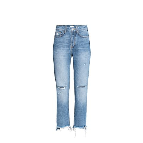 Straight Regular Trashed Jeans