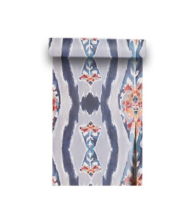tiny bedrooms. Anthropologie Sketched Ikat Wallpaper 17 Tiny Bedrooms With Huge Style  MyDomaine