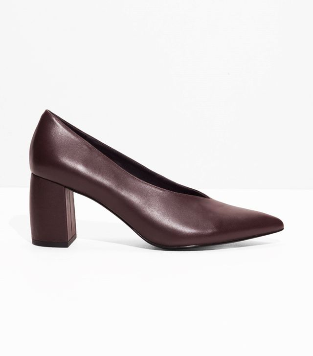 & Other Stories Patent Leather Pumps
