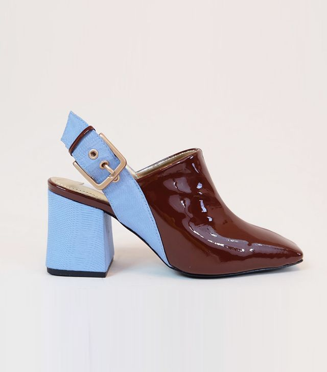 Suzanne Rae Sling Back Mules