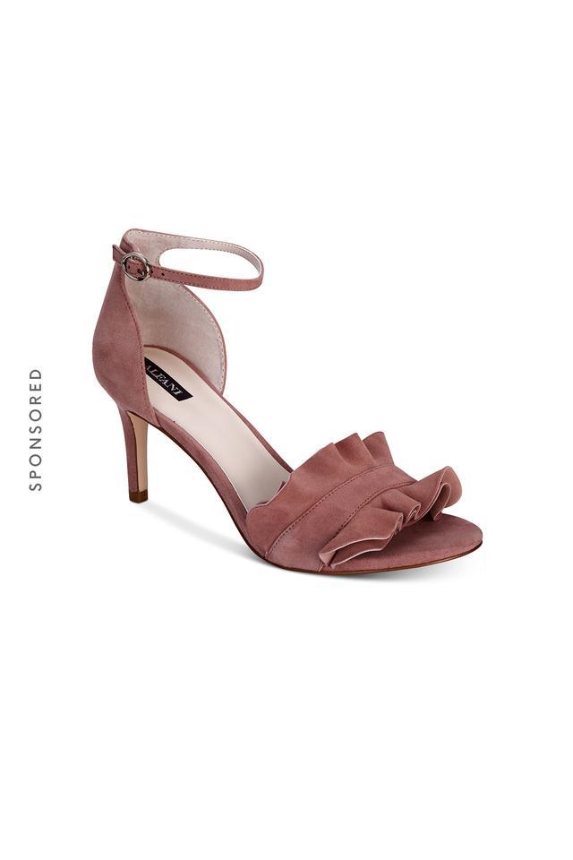 Alfani Women's Grayy Ruffle Dress Sandals, Created for Macy's