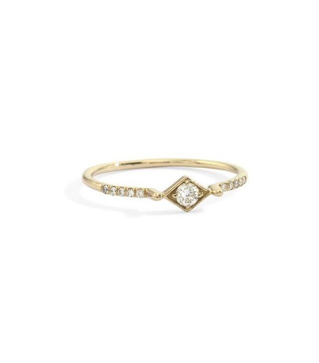 Blanca Monros Gomez Filigree Stacking Ring