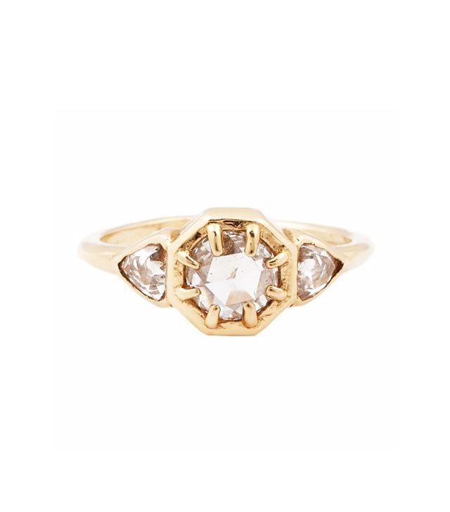Lauren Wolf 3 Diamond Ring