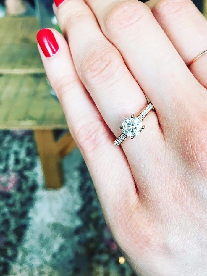 9 Fashion Bloggers With the Prettiest Engagement Rings Who What Wear