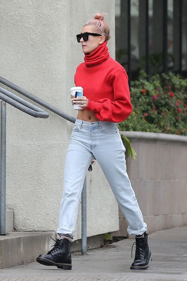 8 cool ways to wear a cropped sweater  whowhatwear