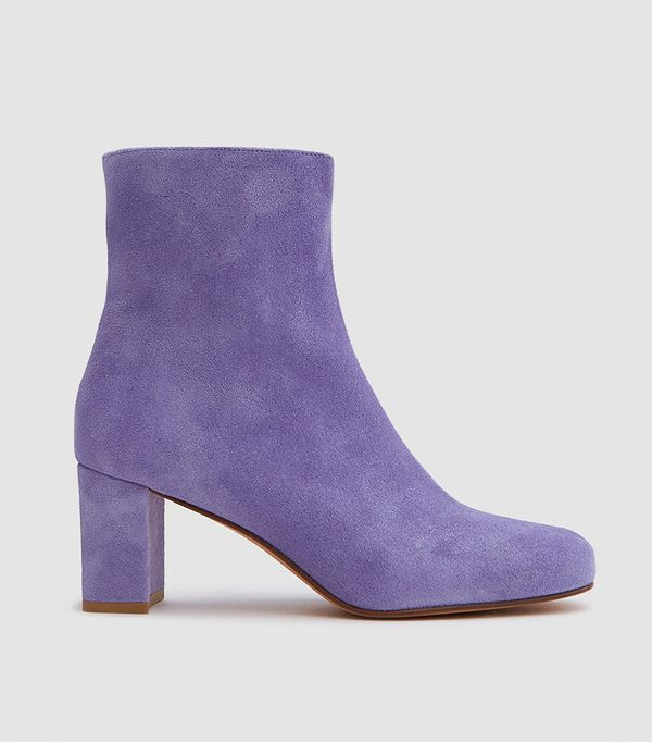 Agnes Boot in Iris Suede