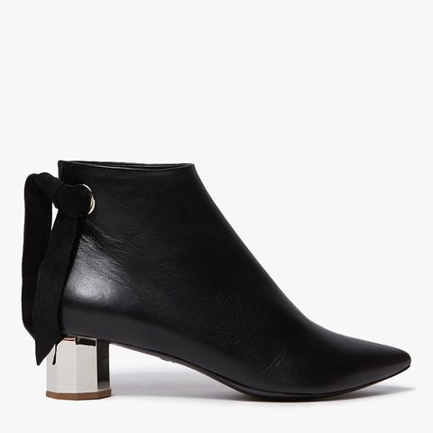 Nappa Laces Boots in Black