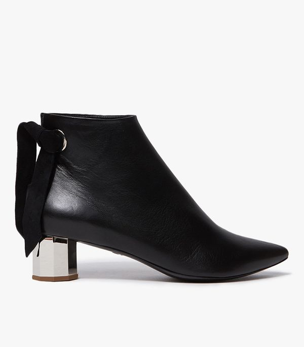 Nappa Laces Boot in Black