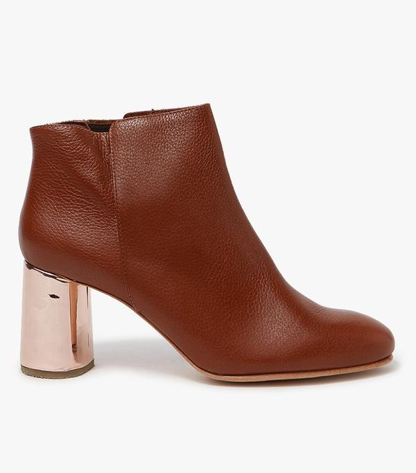 Lin Boot in Cognac