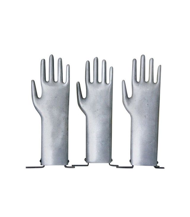 Vintage Vintage Industrial Aluminum Glove Mold
