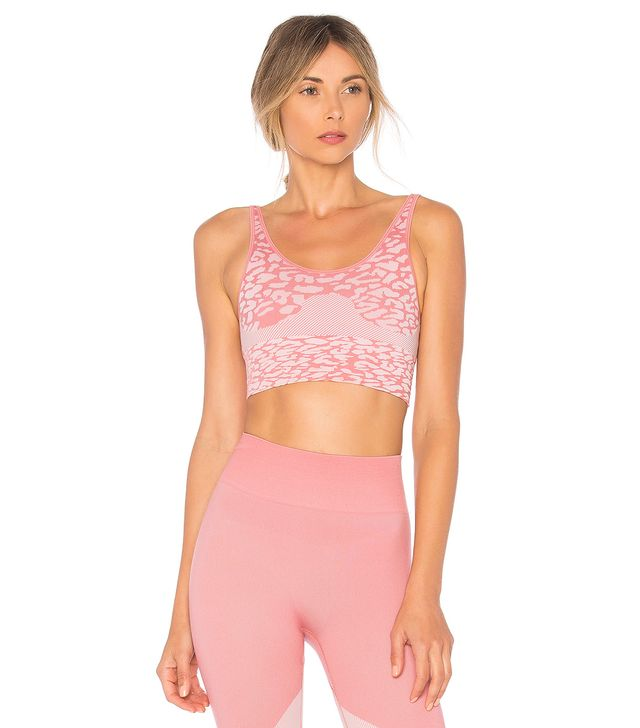 Reed Sports Bra in Pink. - size M (also in S,XS)