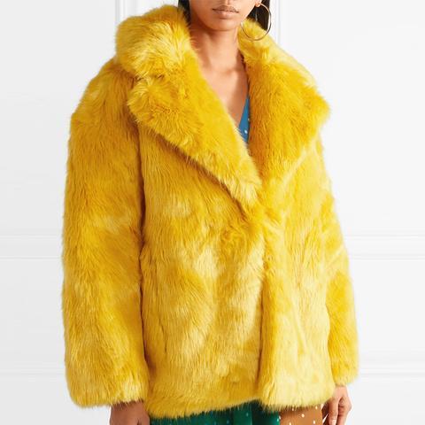 Faux-Fur Coat