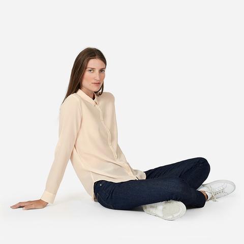 Slim Silk Shirt