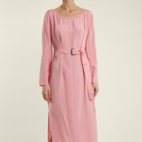 Hester Waist-Belt Midi Dress